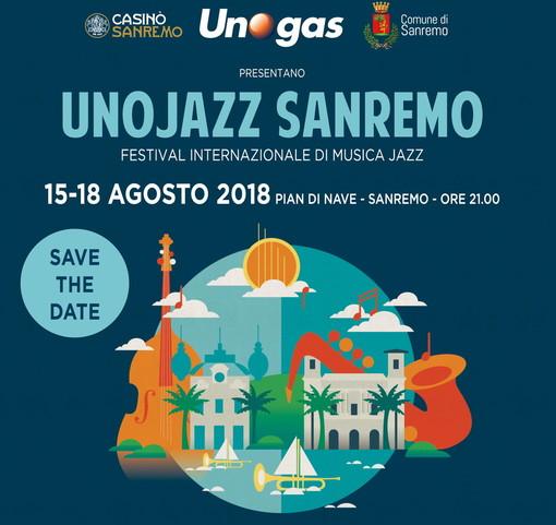 Sanremo: tutto pronto per 'UnoJazz 2018' la rassegna internazionale che si svolge dal 15 al 18 agosto