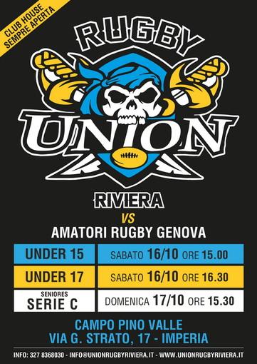 L'ottobrata della Union Rugby Riviera: triplo confronto con gli Amatori Genova