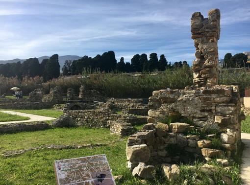 Villa romana alla foce di Sanremo