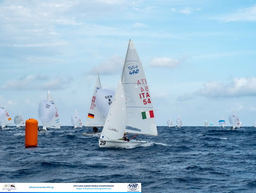 Sanremo: vela, la città dei fiori sorride ai giovani campioni del 470 Junior World Championship (Foto)