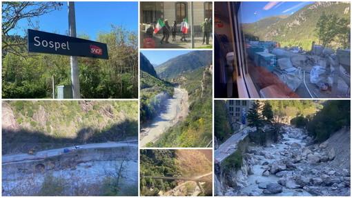 Viaggio da Limone a Ventimiglia? No, a Mentone perchè a Breil il bus non c'era. Il racconto di Alessandro (Foto)
