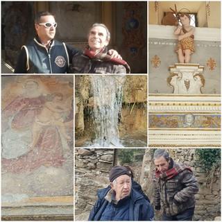 """Rezzo: visita a Cenova con lo storico Gianni De Moro """"L'oratorio di San Giovanni era posto in un punto strategico della Via del Sale"""" (Foto e Video)"""