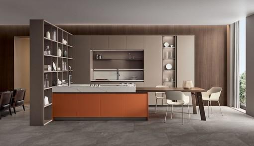 Da Veneta Cucine a Sanremo, con la serie Lounge: un modo innovativo di personalizzare la propria cucina