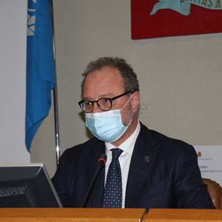 Le immagini dalla sala consiliare del Comune di Ventimiglia