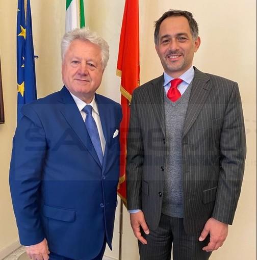 Ventimiglia: Covid, sanità ed economia ai confini italo-franco-monegaschi nella visita dell'Ambasciatore Giulio Alaimo