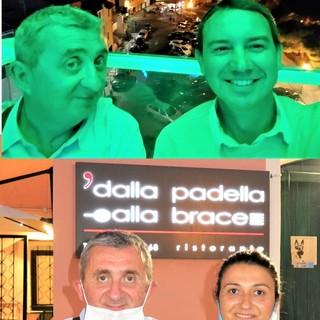 Vito si innamora di Riva ligure: cucina e ospitalità affascinano l'attore e chef del Gambero Rosso