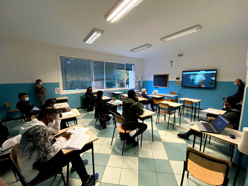 Ventimiglia: visita virtuale ieri per gli studenti del centro per l'istruzione degli adulti al museo 'Rossi' (Foto)