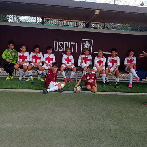 Amichevole tra gli Esordienti 2010 della Polisportiva Vallecrosia Academy e il Ventimiglia Calcio