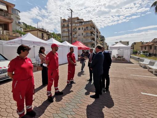 Sanremo: saranno 150, meno del previsto, i profughi afghani che arriveranno domani alla base logistica (Foto)