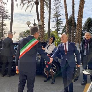 Il 26 aprile al Castello Devachan il ricordo della 'Conferenza di Sanremo': questa mattina la visita dell'ambasciatore israeliano (Foto e Video)
