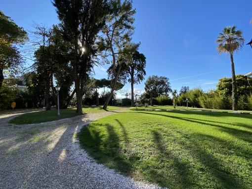 Il parco di Villa Nobel è tra le aree verdi disponibili
