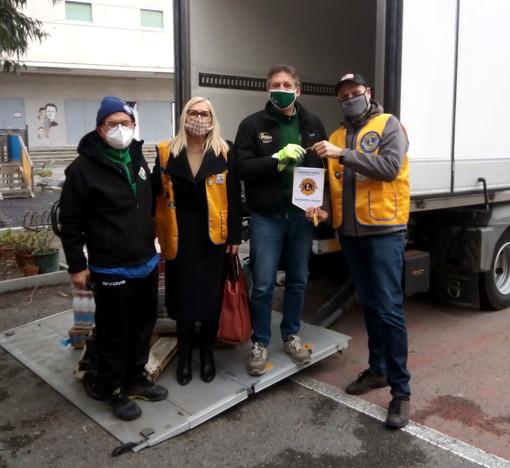 Anche il Lions Club Bordighera Otto Luoghi in campo per aiutare le famiglie in difficoltà