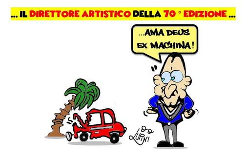 """Le vignette di """"Festival di Sanremo: 70 anni fra sorrisi e melodie"""" in mostra al Casinò di Sanremo"""
