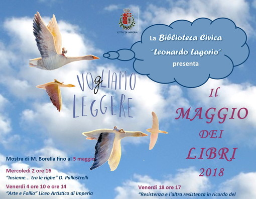 Imperia: alla biblioteca civica 'Lagorio' la campagna nazionale di promozione della lettura