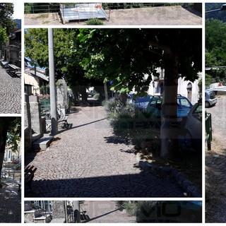 Bajardo: progetto per parcheggi al posto del verde in via Roma, protesta e petizione di alcuni 'bajocchi' (Foto)