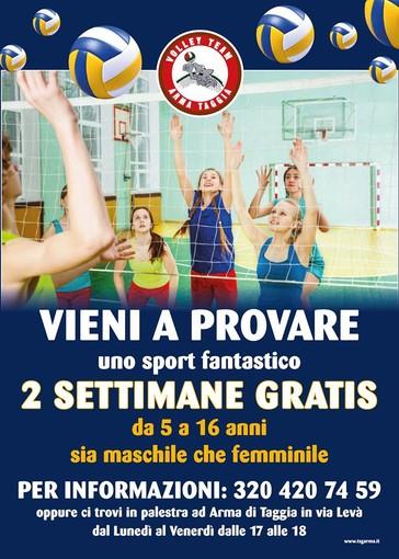 Volley Team Arma Taggia, da lunedì la ripresa dell'attività agonistica