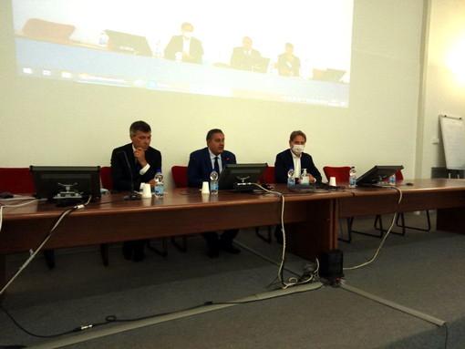 Confronto Toti-Sindacati sulla sanità in Asl 1: punto focale il progetto di ripartenza dopo il Covid (Video)