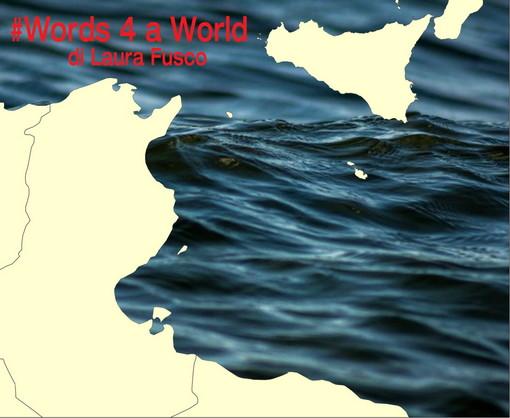 A fine ottobre la costa di fronte a Sanremo è protagonista di #Words 4 a World di Laura Fusco