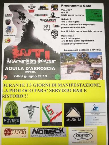 Aquila d'Arroscia: torna da oggi a domenica il campionato italiano WTI di fuoristrada estremo
