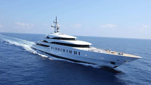 'IJE', lo yacht di 107 metri proprietà del magnate australiano James Packer