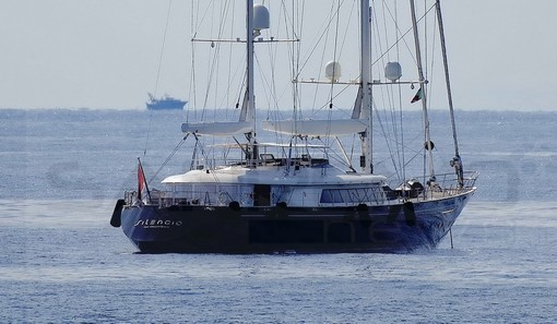 Sanremo: in rada oggi lo splendido yacht 'Silencio' dell'armatore russo Nikita Bourtakov (Foto)