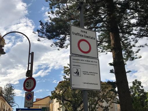 Taggia: ZTL di via Queirolo e via Lungomare, ecco l'orario di libero accesso a partire dal primo novembre 2020