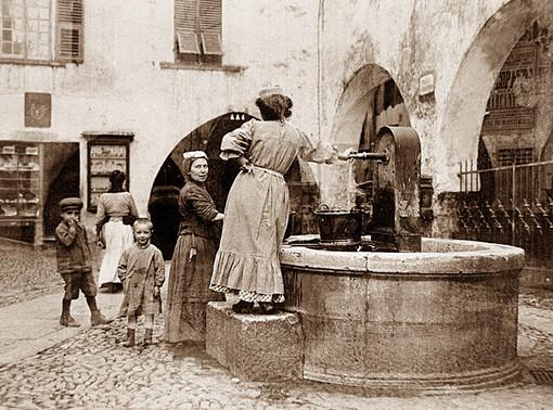Quando il centro della vita a Sanremo erano le fontane