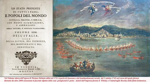 Sanremo e l'Europa a Santa Tecla: quando whisky e Ammiraglio Rowley distrussero le case dipinte del porto...