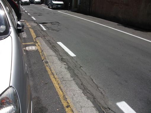 Sanremo: dal 13 al 15 febbraio asfaltatura in via Galilei, posteggi blu 'gratis' in via Pietro Agosti