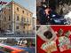 Ventimiglia: esce di casa per spacciare nel centro storico, uomo di 60 anni arrestato dai Carabinieri