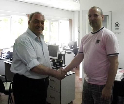 Interscambio culturale tra l'emittente TeleSanremo e quella romena 'Hunedoara Tv'