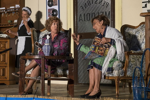 Commedia dialettale della Compagnia Stabile 'Città di Sanremo' al Teatro Ariston