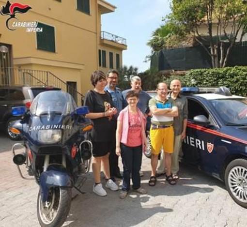 Imperia: alcuni ragazzi dell'Anffas hanno fatto visita al Comando Provinciale dei Carabinieri