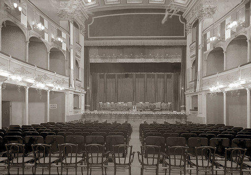 Sanremo e l'Europa a Santa Tecla: quando spuntarono i primi  teatri di Sanremo