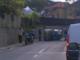 Camporosso: incidente nei pressi di via Santa Croce, perde il controllo e finisce sulla fiancata (Foto)
