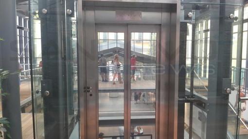 Imperia: la rara pioggia di febbraio ha rotto l'ascensore del mercato coperto di via Cascione