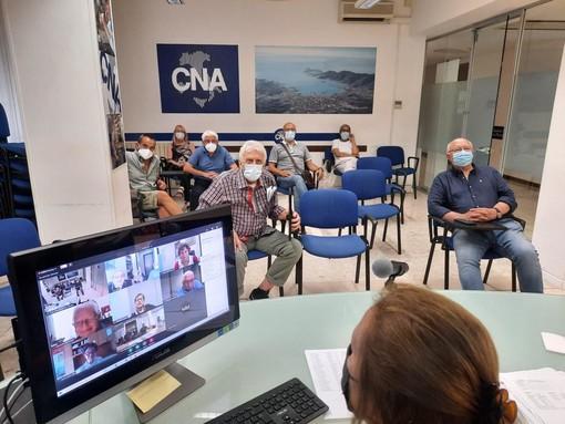 Cna Pensionati Liguria riconferma Giuliano Ginesi alla Presidenza per altri quattro anni