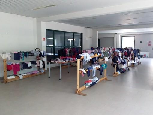 Diano Marina, anche a giugno prosegue l'Atelier dei bimbi. Oggi sono tante le famiglie ad essere state aiutate