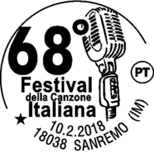#Sanremo2018: un annullo speciale per il festival e francobolli dedicati a Domenico Modugno e Mia Martini