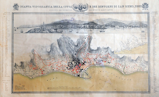 Sanremo e l'Europa: quando Cantù  tracciava le mappe  ed i medici disegnavano le città...