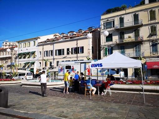 Sanremo: successo per la 'Giornata della Donazione' di Avis Imperia, i ringraziamenti di Davide Binaggia