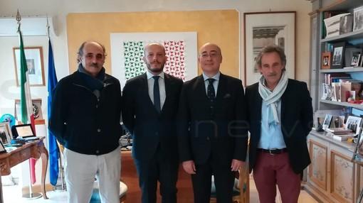 Ventimiglia: frontalieri e scioperi in Francia, Sindaco e organizzazioni sindacali a colloquio con l'ambasciatore italiano e il Ministro del Lavoro del Principato di Monaco