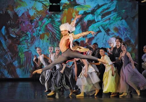 Spettacolo di balletto 'Wolfgang Amadè' al tearo Ariston di Sanremo