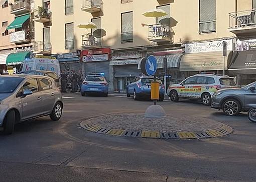 Sanremo: lite tra stranieri in un bar di via Martiri, intervento di soccorsi e Polizia