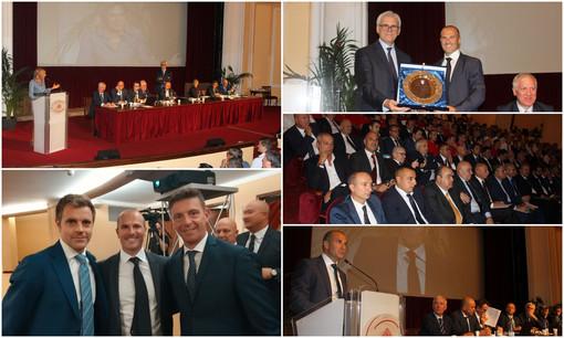 Sanremo: 260 arbitri da tutta Italia al Teatro del Casinò per l'Assemblea Nazionale dei Presidenti di Sezione (Foto e Video)