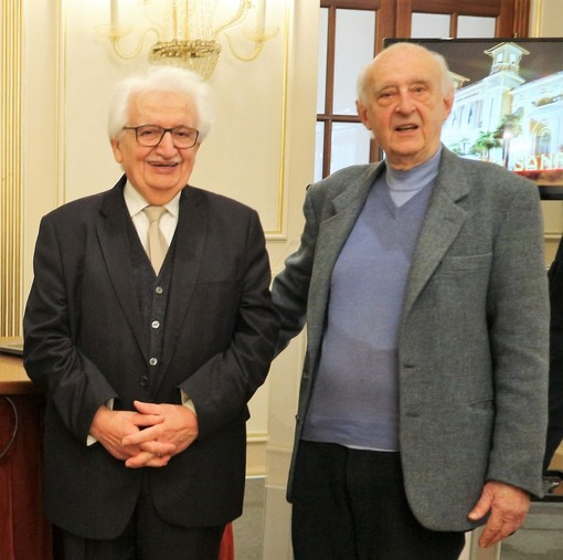 Bruno Gambarotta e Alfredo Moreschi