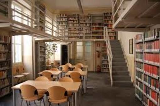 Sanremo: dal 9 agosto due sale lettura su prenotazione alla biblioteca