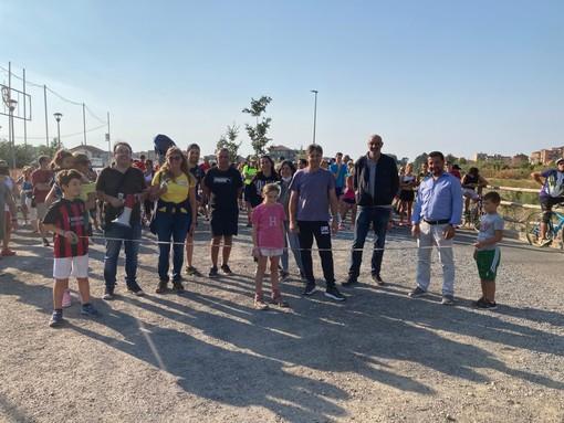 Successo per la manifestazione 'Bici Camminando Mangiando' sul percorso ciclo-pedonale di Camporosso a Dolceacqua (foto)