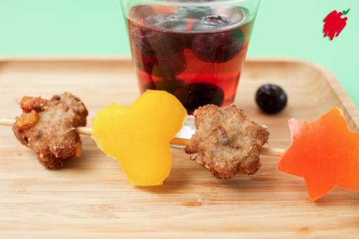 Felici e Veloci, le nuove (video)ricette di Fata Zucchina: biscotti di carne e peperone