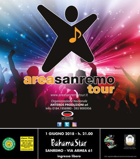 Domani sera al 'Bahama Star' di Valle Armea la tappa matuziana di 'Area Sanremo Tour'